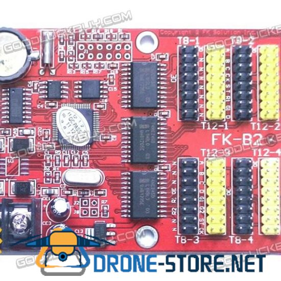 FK-B2 Serial Port Single & Double Color Led Display Screen Module Controller Card 1280*32 pixels