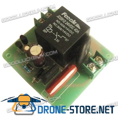 High Power Supply Soft Start Circuit Plate Board Kit with 40A Pure Copper Lead Relay