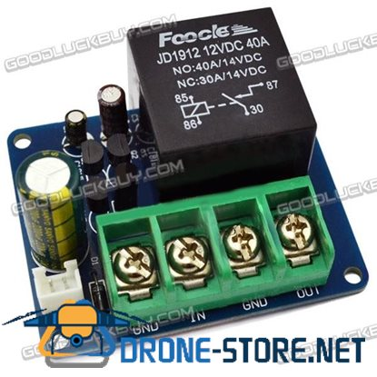 High Level Loudspeaker Protection Circuit Plate Module Kit with 40A Relay A Type