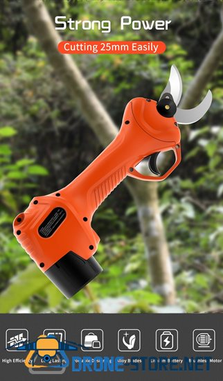 High Quality Electric Pruning Shear 25MM Cutting Blades SK5 Steel Electric Scissors